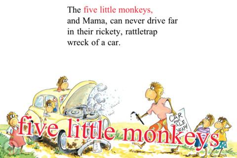 Five Little Monkeys Wash the Car 2