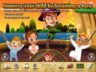 It's me Peter Pan - Storybook app 1