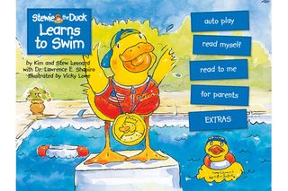 Stewie the Duck Learns to Swim 1