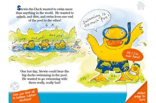 Stewie the Duck Learns to Swim 2