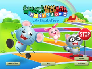 Speech with Milo Articulation Board Game 1