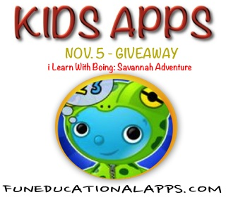 Learn With Boing- Savannah Adventure
