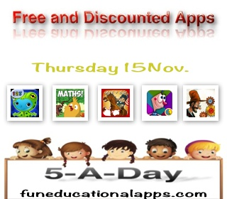 Free apps for Kids - Nov 15