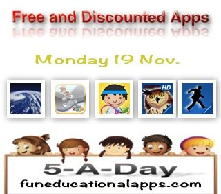 Kids App Deals Nov 19
