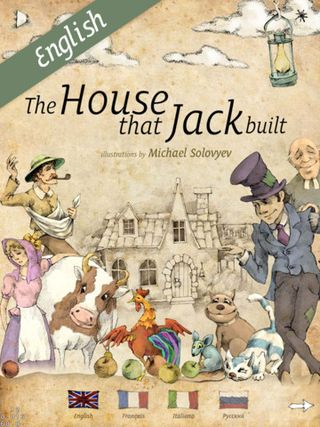 House that Jack built - multilingual interactive book 1