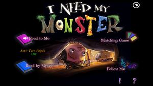 I Need My Monster 1