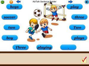 Sentence Builder App 1