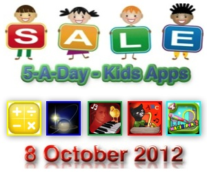 Kids Apps Deals oCt 8