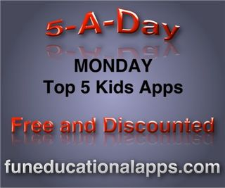 Monday -Top 5 Kids apps