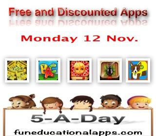 Free Apps for Kids - Nov 12