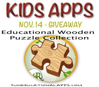 Kids App Giveaway - Nov 14