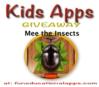 Meet the Insect app giveaway