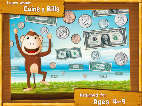 Splash Money Counting Coins and Bill 1