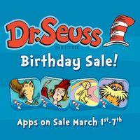 Dr. Seuss Birthday Sale
