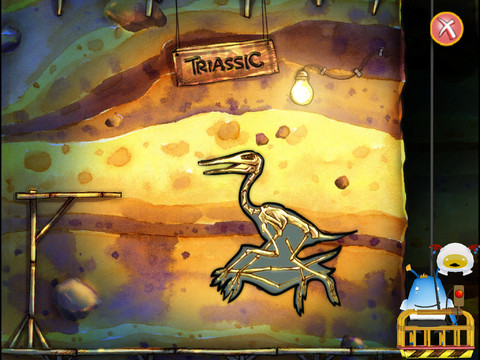 Ansel & Clair- Triassic Dinosaurs - Top Educational App for kids