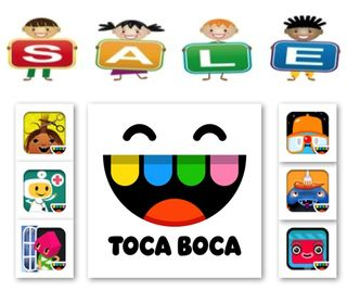 Free Toca Boca Gmae apps for Kids