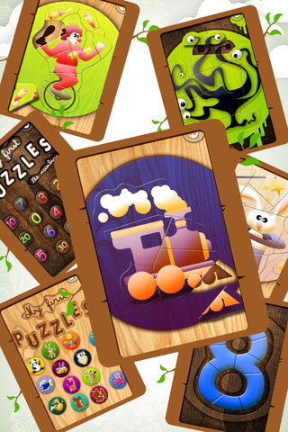 Educational Wooden Puzzle Collection 3