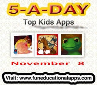 Nov 8 - Kids Apps deals