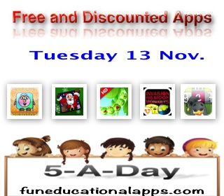 Free Apps for Kids - Nov 13
