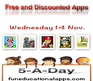 Free Apps for Kids - Nov 14