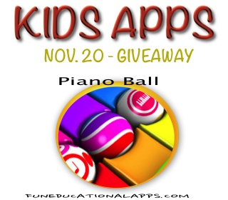 App Giveaway - Piano Ball