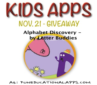 Alphabet Discovery - by Letter Buddies giveaway