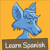 Learn Spanish- Little Blue Jackal