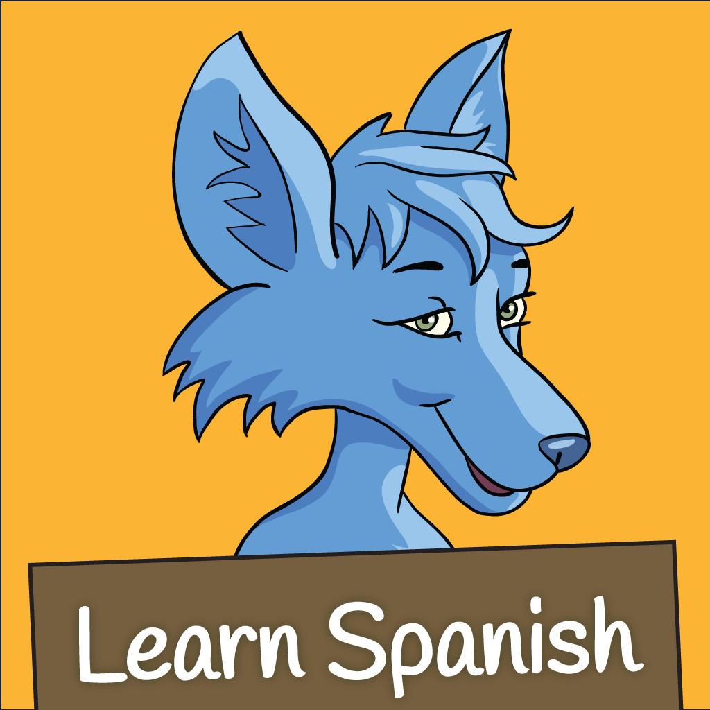 Learn Spanish: Little Blue Jackal - Learn Spanish App Review - Fun ...