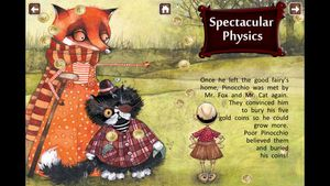 Pinocchio- Interactive 3
