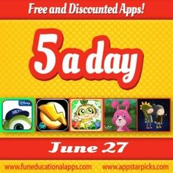 Free Kids Apps June 27