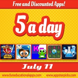 Free Kids Apps July 11