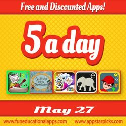 Free kids Apps May 27