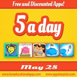 Free apps for Kids May 28