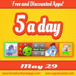 Free Kids Apps May 29