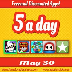 Free Kids Apps May 30