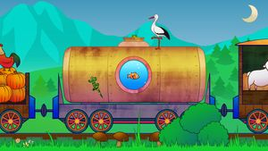 Animal Train for Toddlers 3