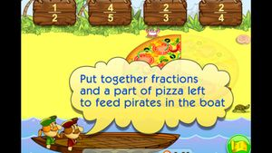 Fractions. Smart Pirate 2