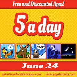 Free Kids Apps June 24