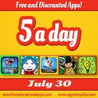 Free Kids Apps July 30