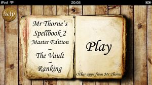 Mr Thorne's Spellbook 2- Master Edition
