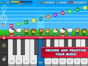 Hello Kitty Music Piano 3