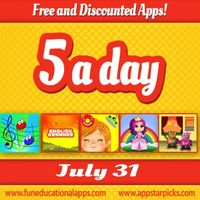 Free Kids Apps July 31
