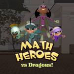 Math Heroes vs Dragons