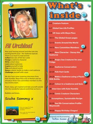 Sea Urchins magazine 3
