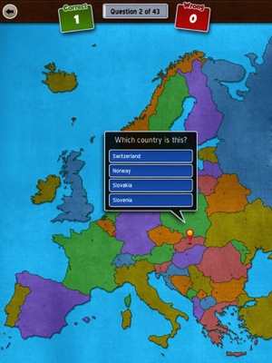 GeoFlight Europe HD Learning European Geography made easy and fun 2