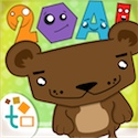 Baby Tap Ding! English Shapes Numbers Letters Animals