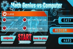 Math Genius  vs Computer 2