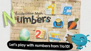 Doodle Critter Math- Numbers