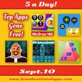 Free Apps Sept. 10