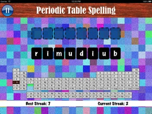 Spelling game app to learn all the elements in the periodic table spelling game app to learn all the elements in the periodic table fun educational apps for kids urtaz Images
